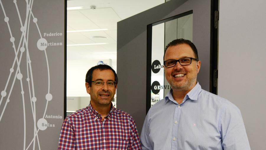Antonio Salas e Federico Martinón, nunha imaxe de arquivo. Foto: RQ