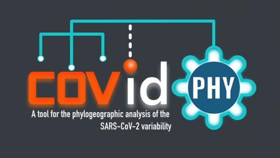 CovidPhy permite tamén explorar a distribución xeoespacial de variantes do virus no mundo